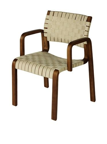 47 Off Control Brand Orebro Arm Chair Walnut White Home Home Bungalow