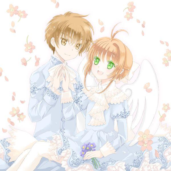 L syaoran and K Sakura - Cardcaptor Sakura | C.C.S. | Pinterest ...