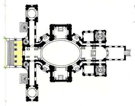 Karlskirche (San Carlo Borromeo) - Vienna, Austria / 1716-37 / Johann Bernhard Fischer von Erlach