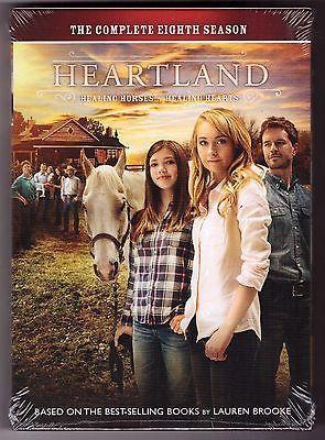 cds-dvds-vhs: Heartland: Complete Eighth Season 8 (DVD Series 5-DISC Set Region 1, 2015) NEW #Movie - Heartland: Complete Eighth Season 8 (DVD Series 5-DISC Set Region 1, 2015) NEW...