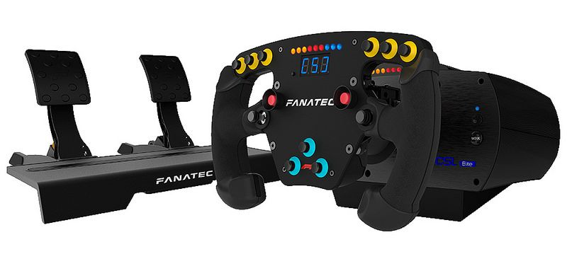 Fanatec CSL Elite F1 Set Review By GamerMuscle | F1