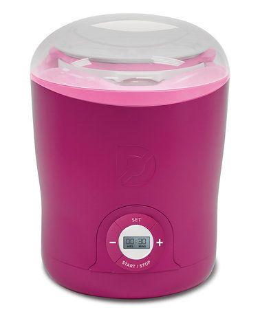 Another great find on #zulily! Pink Greek Yogurt Maker #zulilyfinds