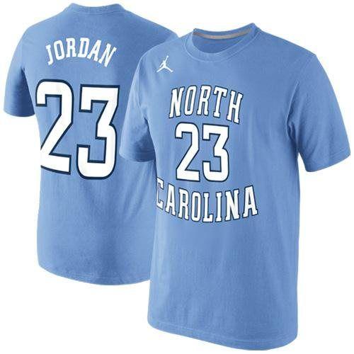 fb30b8c42eba1b Nike Michael Jordan North Carolina Tar Heels (UNC) Future Star Jersey  Replica T-Shirt - Carolina Blue