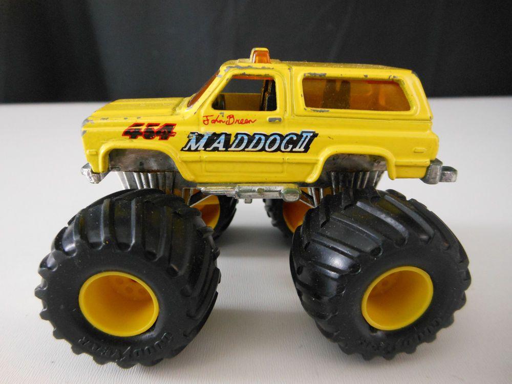 Matchbox Super Chargers Maddog Ii Monster Truck 1985