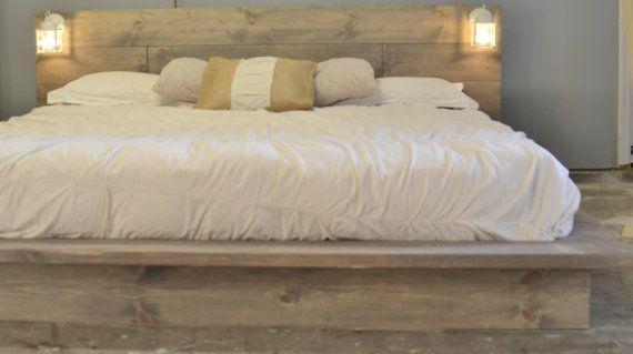 Best Salta Wood Platform Bedframe With White By 640 x 480