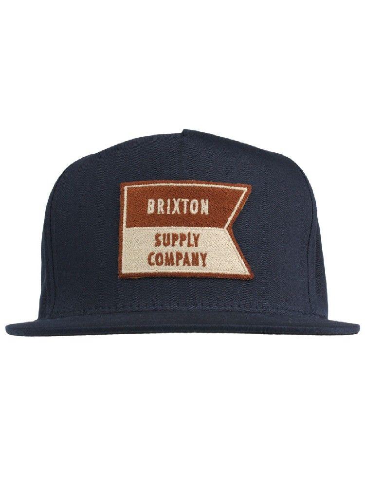 d05f9320615 Brixton Clothing Ballast Snapback Hat - Navy  26.00  brixton ...