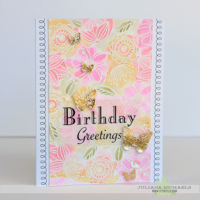 Birthday greetings card by juliana michaels featuring srm stickers birthday greetings card by juliana michaels featuring srm stickers janes doodles stamps therm o m4hsunfo