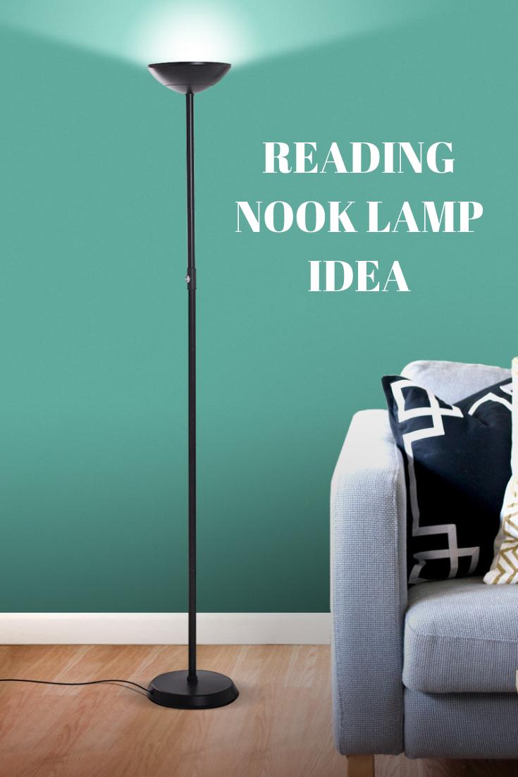 Skylite Led Torch Floor Lamp Bright Living Room Bedroom