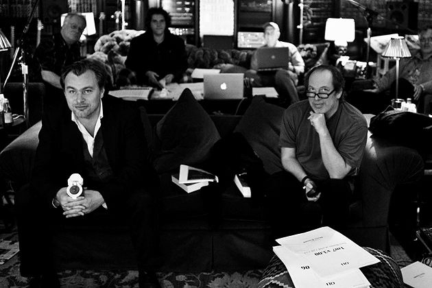Hans Zimmer And Chris Nolan Scoring Batman With Images
