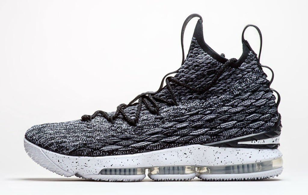 Nike LeBron 15 Black White Ashes Release Date 897648 002