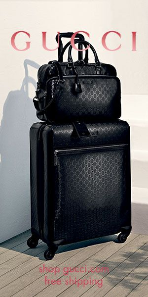 a50ef9491 GUCCI® Four Wheel Trolley Suitcase Carry On Suitcase, Carry On Luggage, Travel  Luggage