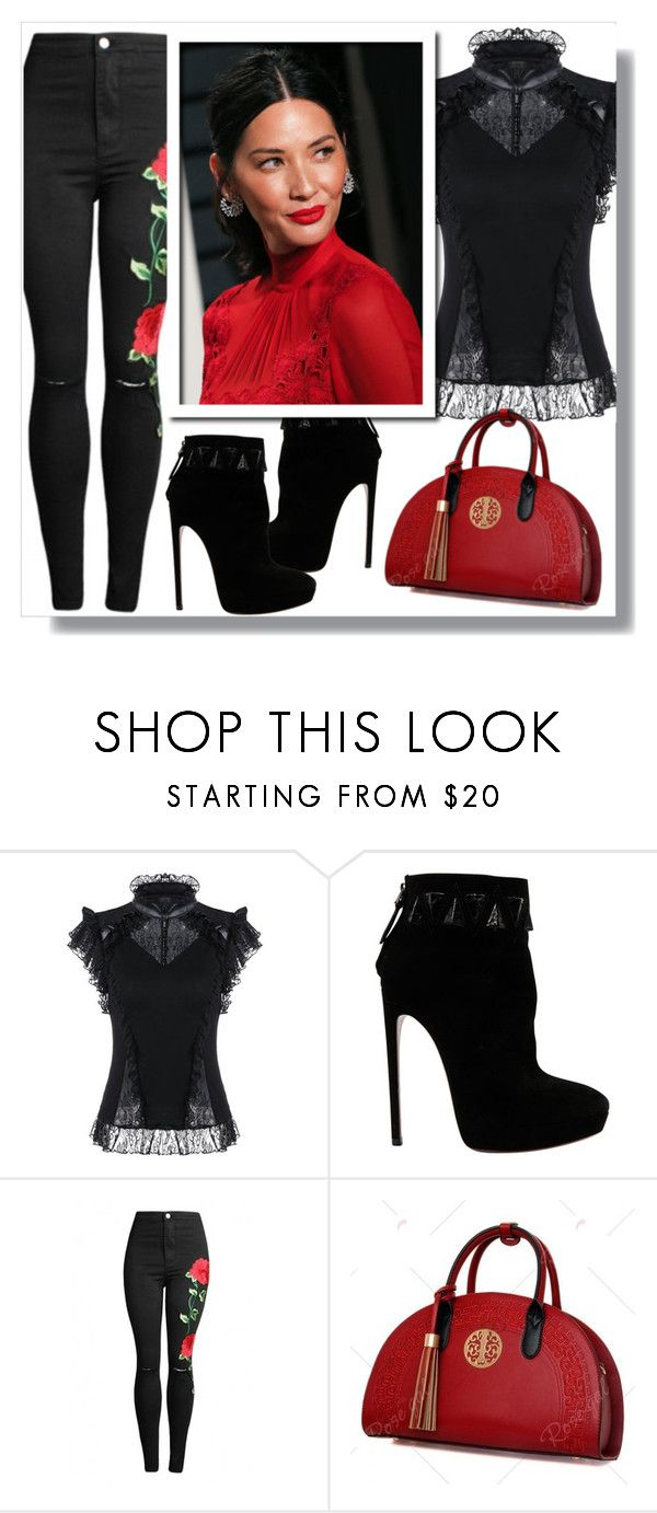 """Rosegal"" by clumsy-dreamer ❤ liked on Polyvore featuring Alaïa"