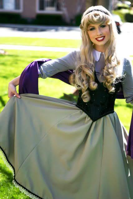 Sleeping Beauty Aurora Custom Adult Costume WIG A True Enchantment ...