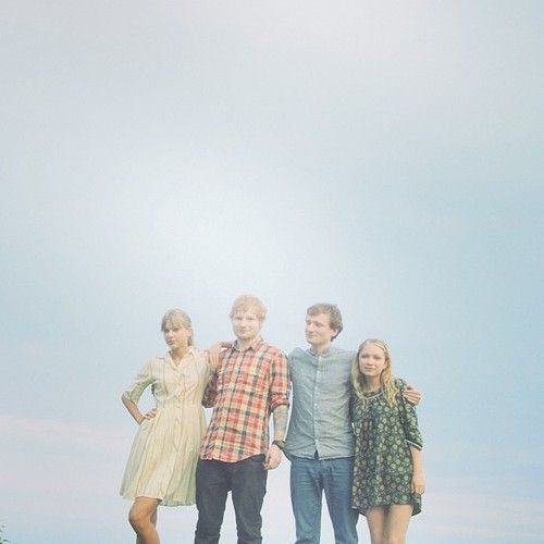 Taylor Swift AND Ed Sheeran AND Tavi Gevinson :)