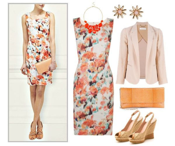 Outdoor Wedding Guest Outfit | DRESS | Pinterest | Summer wedding ...