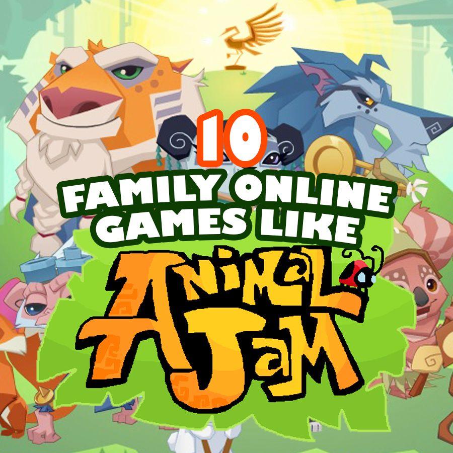 10 KidFriendly Online Games Like Animal Jam! Tons of fun