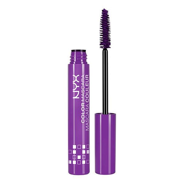 purple Color Mascara NYX cosmetics