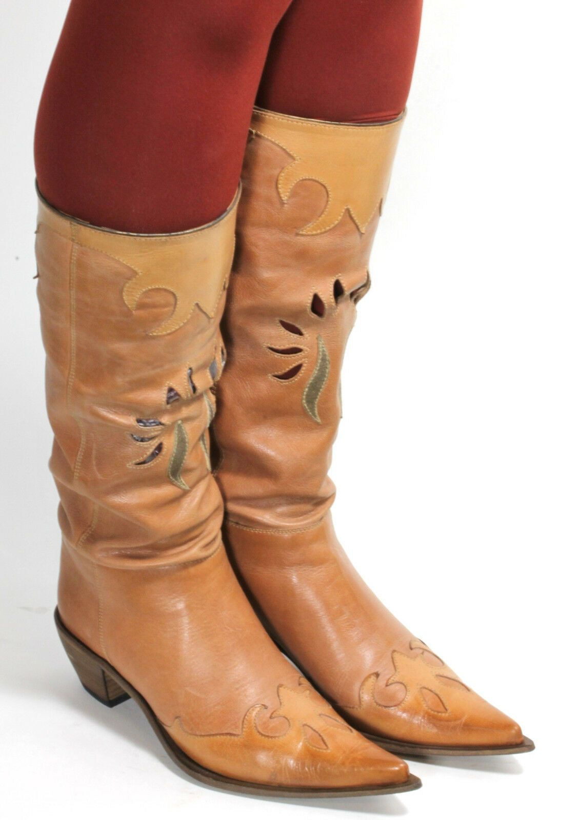 stivali cowboy donna 35