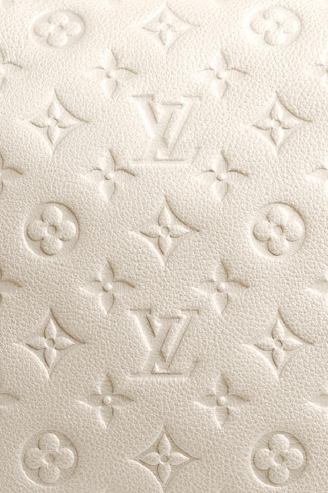 WHITE Louis Vuitton White iPhone Wallpaper. Free