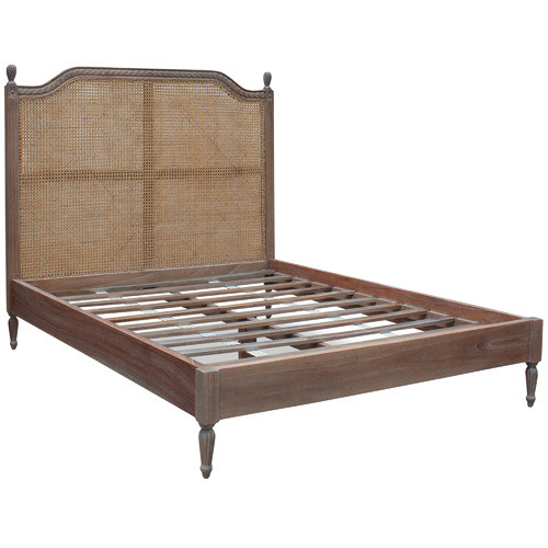 French Provincial Toulouse Rattan Bed Temple & Webster