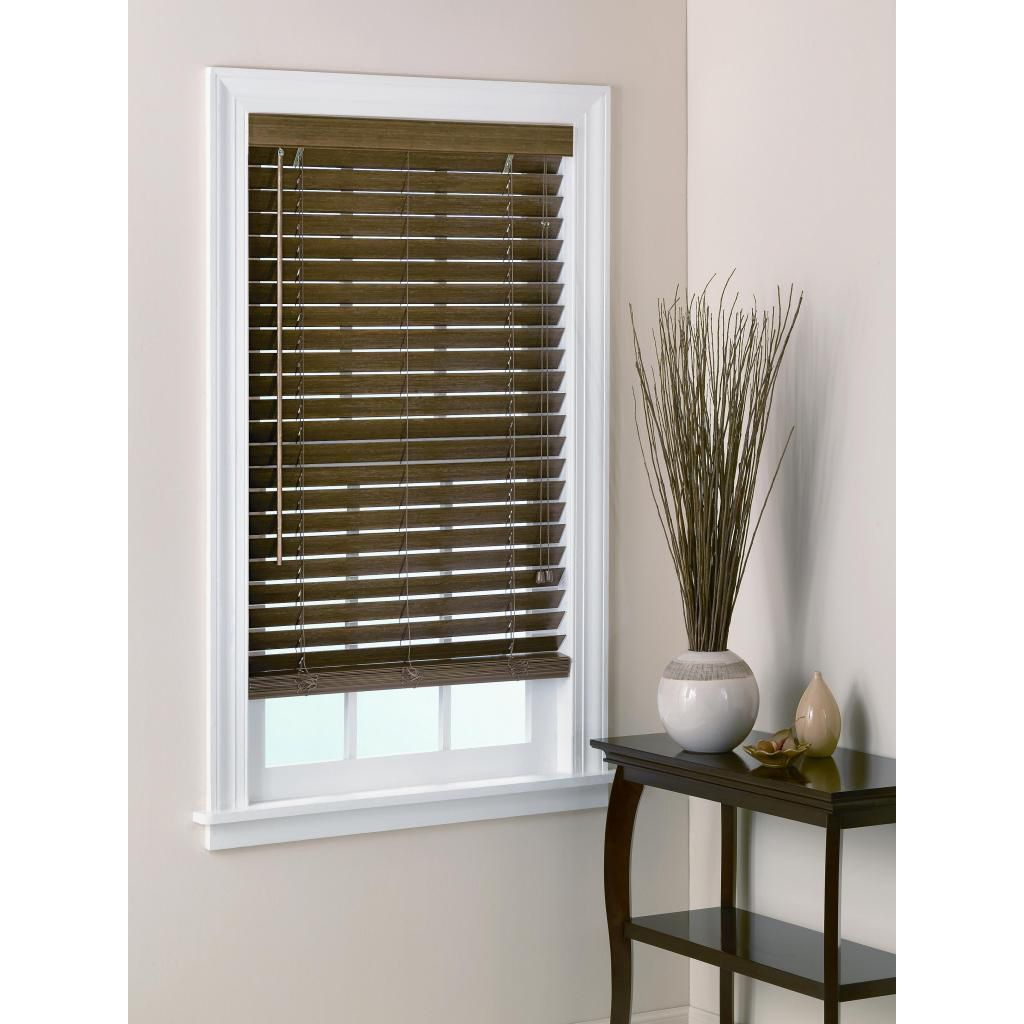 Usa Bamboo Blinds 2 Inch Slats In Chestnut 46x64 Brown Verticalblindshack Fabricblinds Blinds Design Wooden Blinds Curtains With Blinds