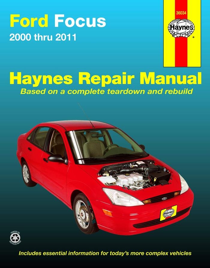 Ford Focus 00 11 Haynes Repair Manual By Max Haynes Haynes Manuals N America Inc Ford Focus Repair Manuals Automotive Repair