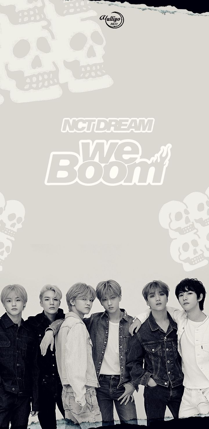 Nct Dream We Boom Lockscreen Wallpaper Pls Make Sure To Follow Me Before U Save It Find More On My Account Boys Comeba Nct Dream Nct Jisung Nct