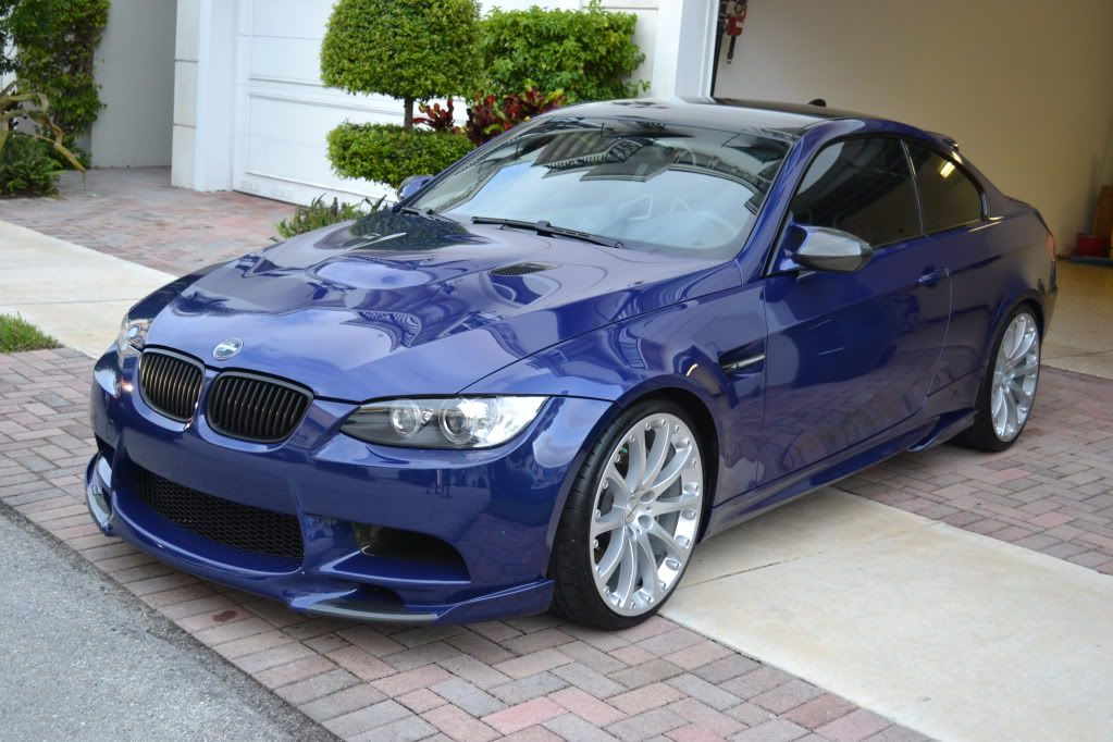 A Highly Modded Interlagos Blue E92 M3 With Images Cars For