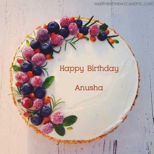 New Birthday Cakes Of Anusha