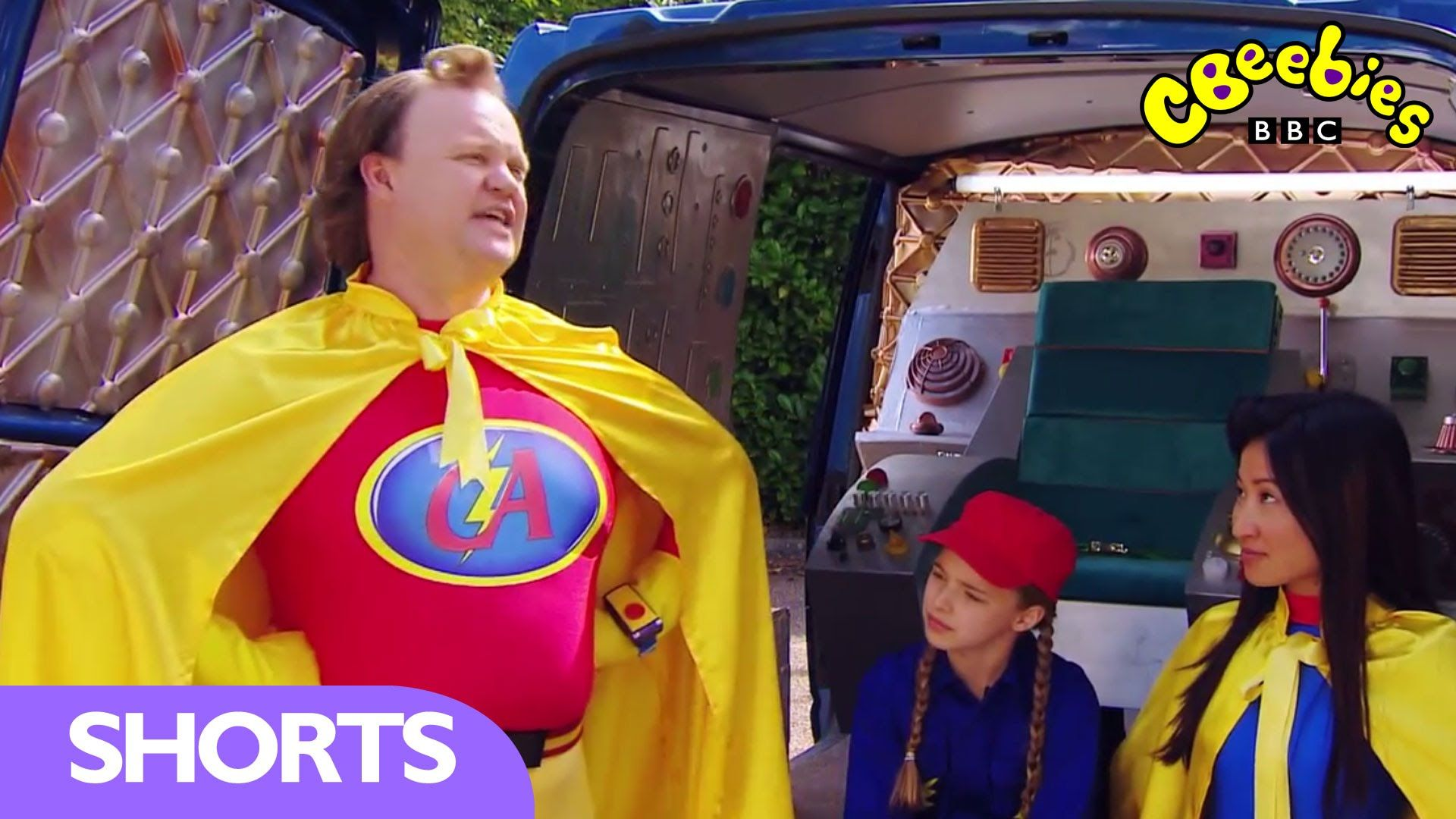 Get To Know Captain Adorable CBeebies