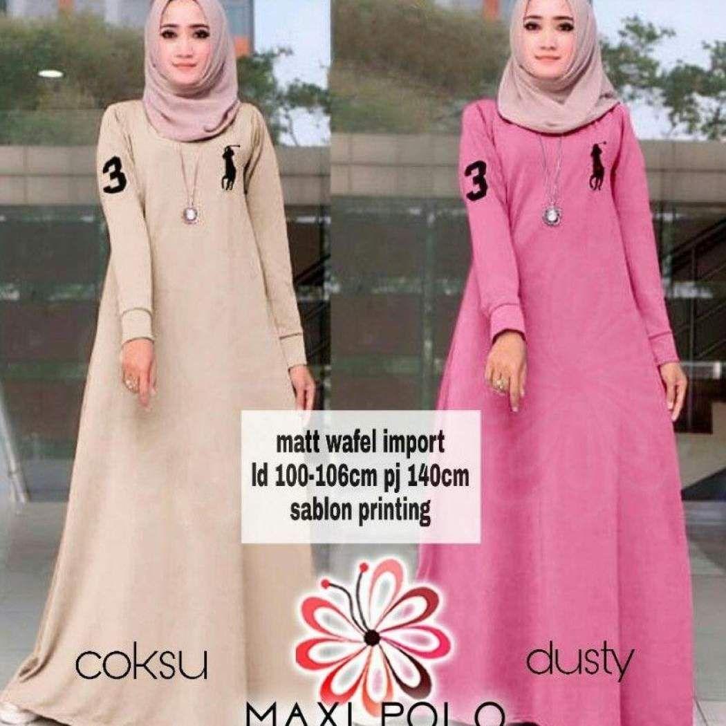 Model Gamis Loreng Terbaru  Model, Baju muslim, Wanita