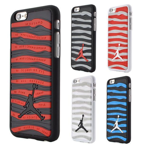 소매 3d 조던 전화 case 대한 iphone 6 plus 5.5 pvc 고무 스트라이프 jumpman 전화 다시 커버 iphone 6 4.7 inch 5 초 SE
