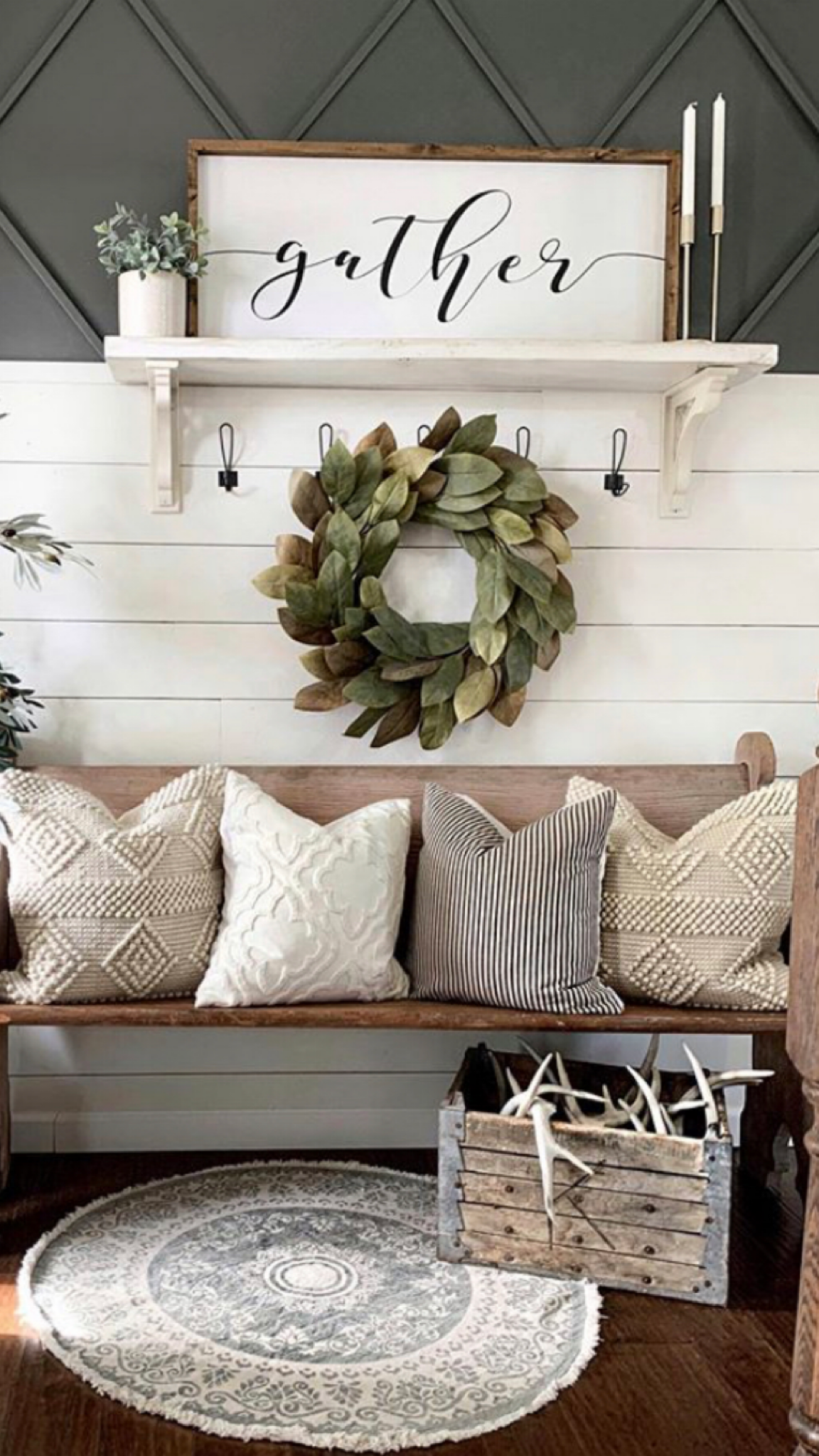 Spring wreaths for home