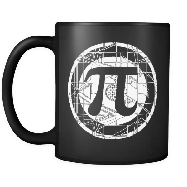 Our Pi Symbol On This Black 11oz Mug Is A Great Gift Ideas For Math