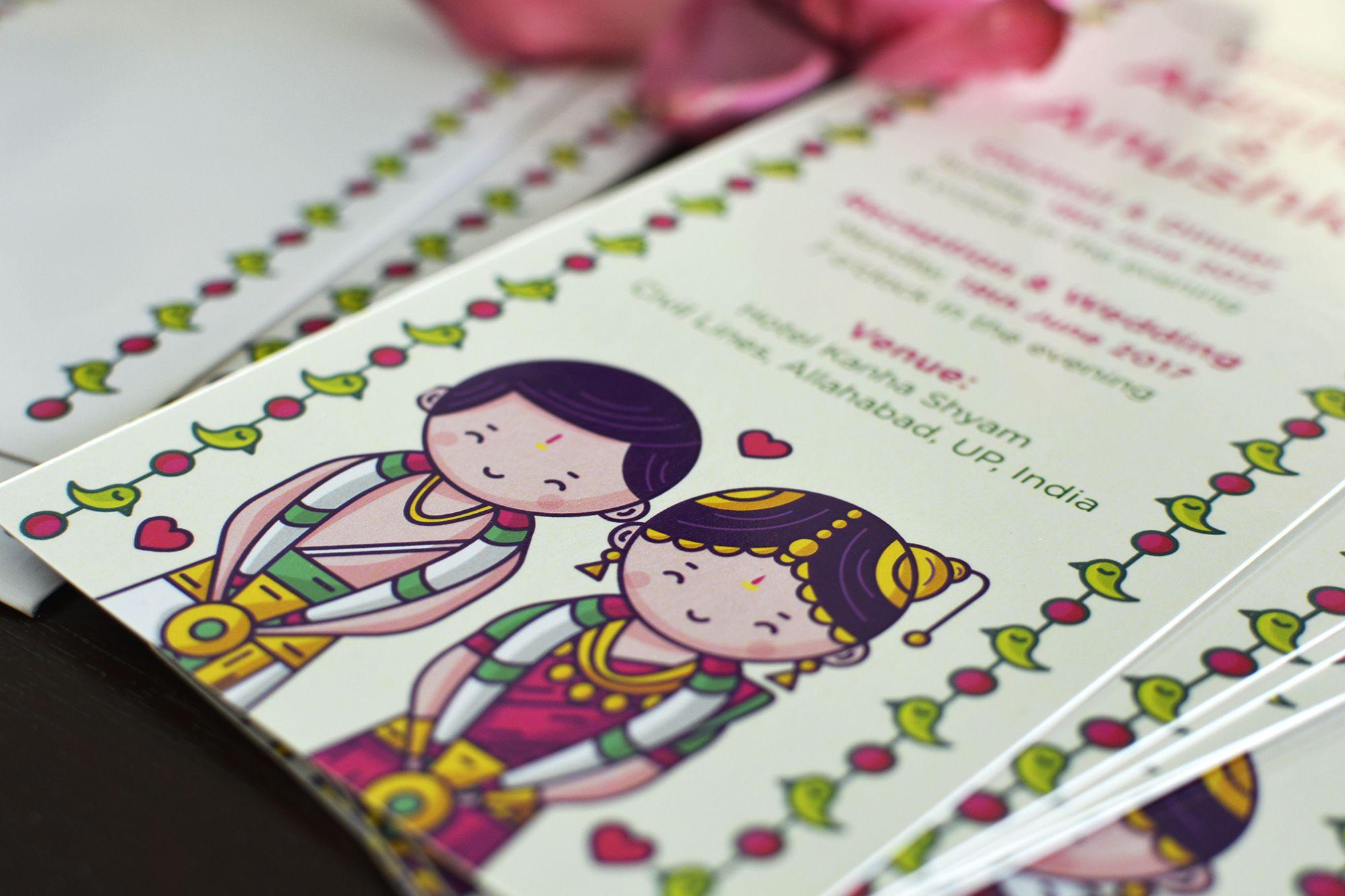 tamil brahmin wedding invitation cute couple collection explore
