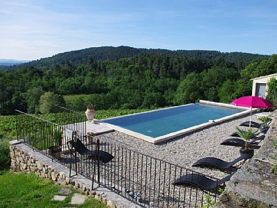 Location vacances chambre du0027hôtes Joannas piscine 12x5 ouverte du 1 - chambre d hotes aix en provence piscine