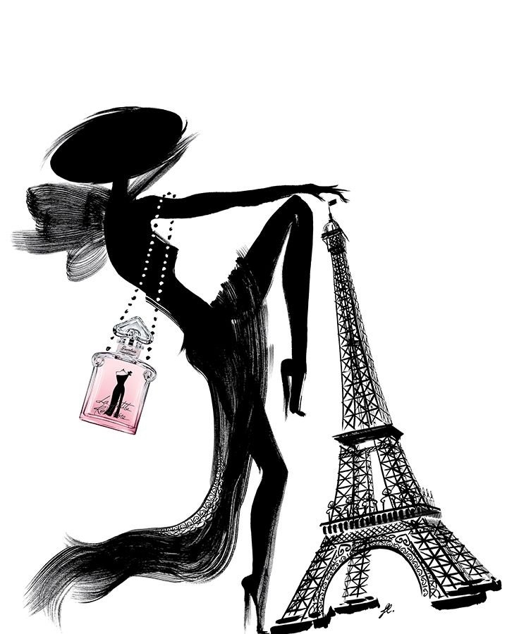 la petite robe noire eau de parfum couture beauty pinterest perfume fashion illustrations. Black Bedroom Furniture Sets. Home Design Ideas