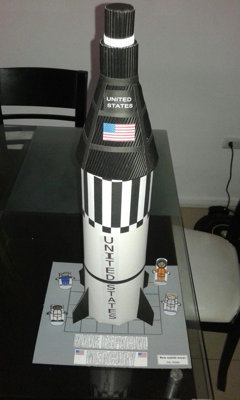 Maqueta Nave Espacial Yojhana Bastidas Maquetas En 2019