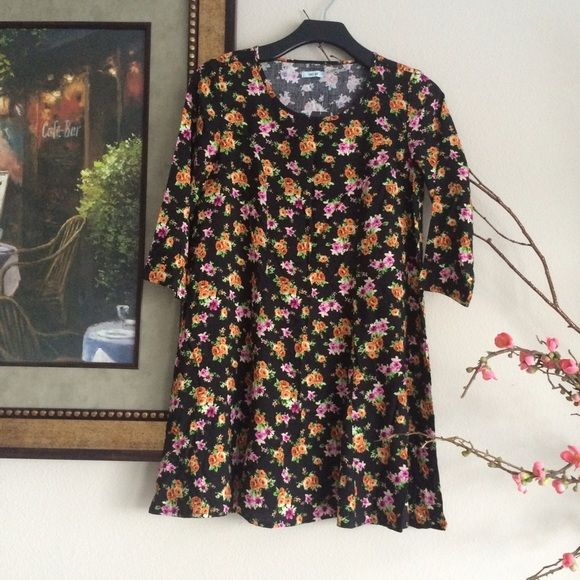 Floral shirtdress Cute dress from urban outfitters. New with tags Urban Outfitters Dresses