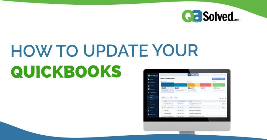 QuickBooks is set up to automatically download updates from