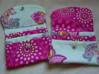 Holy Craft: Fabric wallets and a giveaway!