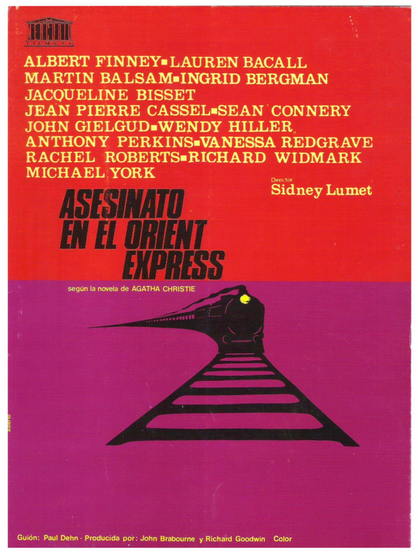 Asesinato en el Orient Express | 1974 | Pinterest | Ingrid bergman ...