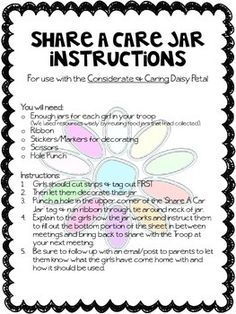 Girl Scouts Considerate And Caring Girl Scout Daisy Activities