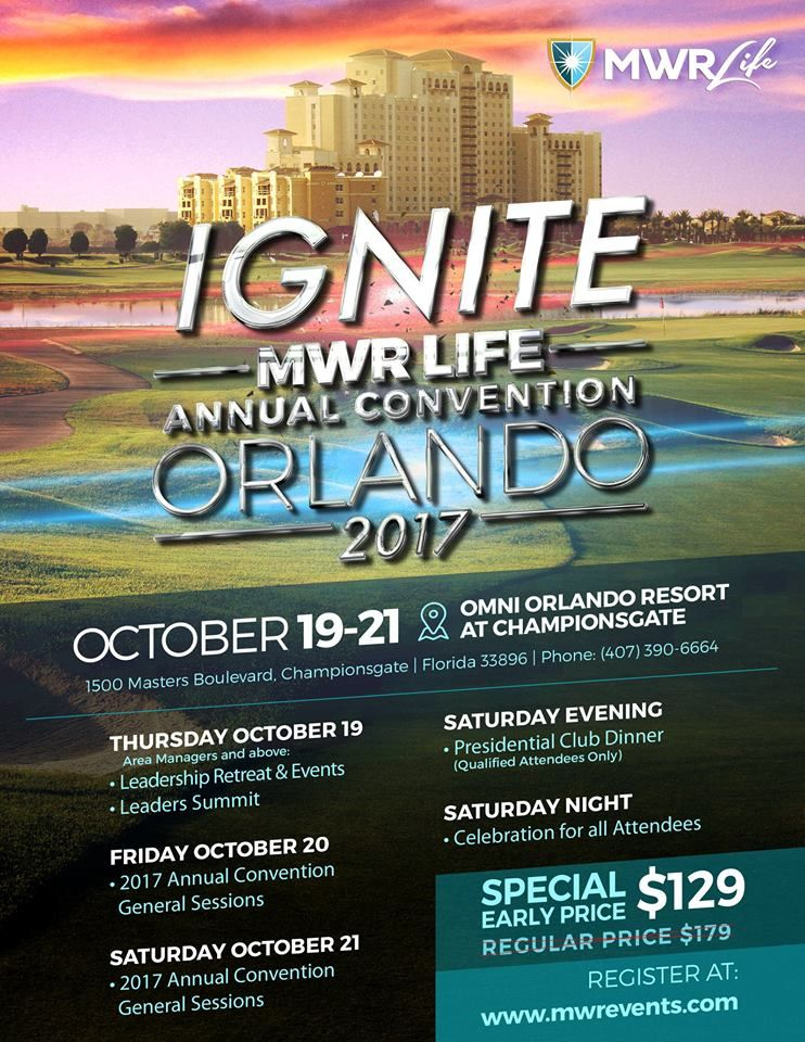 Book your rooms today for the 2017 National Convention! We