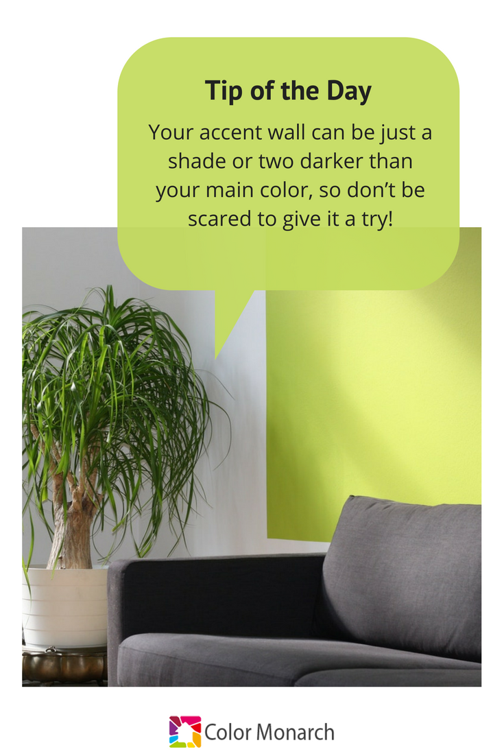 Thinking about painting that accent wall? Don\'t be scared. If you ...