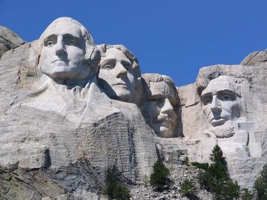 Mount Rushmore, South Dakota, USA...amazing when you go in the info center and read about it!