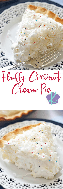 Fluffy Coconut Cream Pie | Recipe | Homemade whipped cream, Cream ...