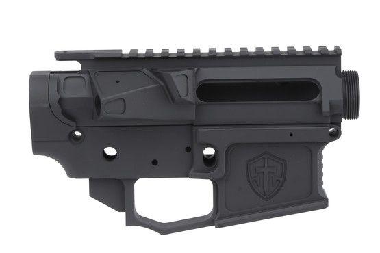 $325 Shreveport Tactical G1 AR15 Matched Receiver Billet Set, 7075-T6 Cerakote Finish - Black