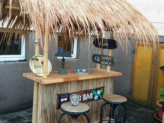 Tiki Bar Bauanleitung zum selber bauen Selber machen Garten - outdoor küche selber bauen