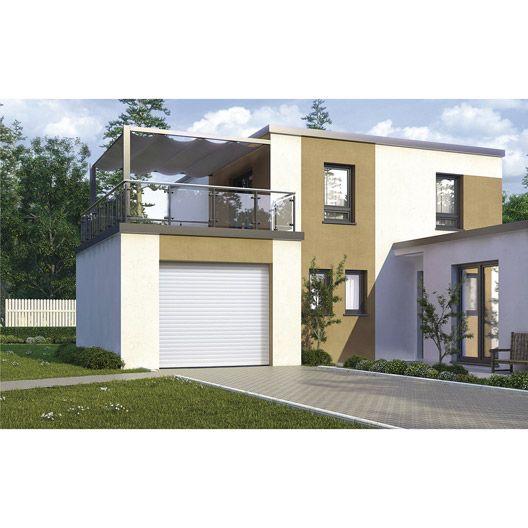 porte de garage enroulement excellence motoris e aluminium blanc 200 x 240cm mat riaux. Black Bedroom Furniture Sets. Home Design Ideas
